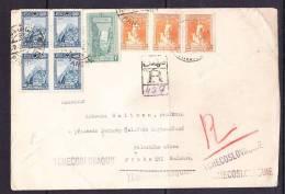 E-ASIA-03 LETTER FROM TURK  ISTAMBUL TO TCHECOSLOVAQUIE 17.02.1929 - 1921-... République