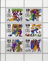 Grimms Märchen 1969 DDR 1450/5 Kleinbogen ** 3€ Jorinde Und Joringel Blocchi Bf Story Bloc Children Sheetlet Of Germany - Fairy Tales, Popular Stories & Legends