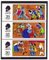 Märchen Des Kaisers Neue Kleider DDR 2096/8 Plus 3-KB ** 5€ - Fairy Tales, Popular Stories & Legends