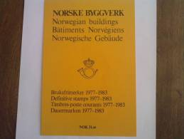 NORVEGE - Bâtiments Norvégiens 1977 à 1983 - Norvège