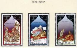 UNO Jahr Des Kindes 1979 Märchen Aller Länder UNESCO Korea 2081/7 O 5€ Schlauer Fuchs, Schöne Schloß, Adlers Klau - Fairy Tales, Popular Stories & Legends