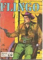 FLINGO N° 24 - IMPERIA - FEVRIER 1971 - ASSEZ BON ETAT - Petit Format