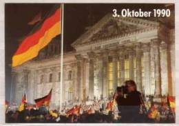 Berlin , 3. Oktober 1990 , Reichstag - Mitte