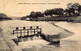 Rivière Navigable - écluse - Laval (Mayenne) - Les Bords De La Mayenne - L'écluse D'Avesnières - Barche