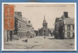29 - GUERLESQUIN --  La Rue De L'Eglise - Guerlesquin