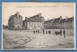 29 - GUERLESQUIN --  La Place Du Marché Et.... - Guerlesquin