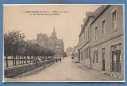 29 - GUERLESQUIN --  L'Abside De L'Eglise Et..... - Guerlesquin