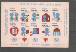 Hojita Derechos Del Niño Unicef - España