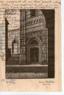 """Cartolina D'epoca  - Ediz. D.Bellini  """" Siena - Battistero """" - Siena"""