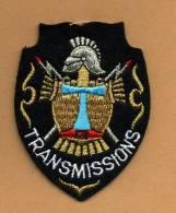 Ecusson Transmissions - Ecussons Tissu