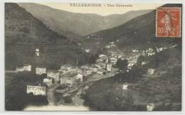 VALLERAUGUE (GARD - 30) - CPA - LE QUAI ET PONT SUR L´HERAULT - Valleraugue