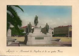 AJACCIO - Corse - Monument De Napoléon Et De Ses Quatre Frères. - Ajaccio