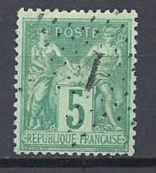 SAGE N° 75 OBL TTB - 1876-1898 Sage (Tipo II)