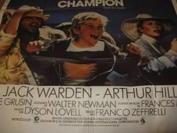 AFFICHE  Cinéma ,le Champion - Posters