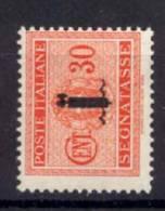 Italia  Repubblica Sociale 1944 Segnatasse Sass.S.64 **/MNH VF/F - 4. 1944-45 Social Republic