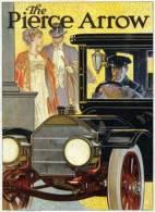 @@@ MAGNET - Pierce Arrow, 1909 - Publicitaires