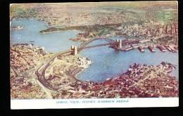 AUSTRALIE SYDNEY / Aerial View, Harbour Bridge / - Sydney