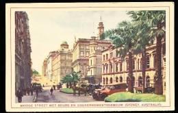 AUSTRALIE SYDNEY / Bridge Street Met Beurs En Gouvernementsgebouw / - Sydney