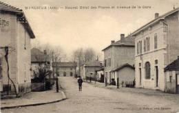 MARLIEUX - Nouvel Hotel Des Postes Et Avenue De La Gare  (54900) - Autres Communes
