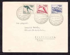 E-EU-23 LETTER FROM GERMANY TO CSR BRATISLAVA 18.02.1936 - Allemagne