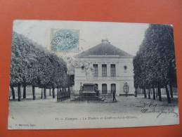 Etampes Theatre Carte Precurseur Essonne - Etampes