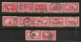USA 1912 - Yvert #1-12 (Fiscales) - United States