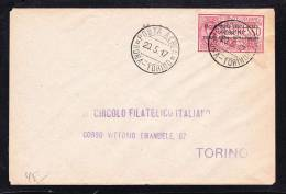 E-EU-51 LETTER FROM ITALY TORINO 20.05.1917