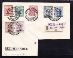 E-EU-53 LETTER FROM ITALY TO TURQUIE 14.04.1913
