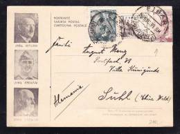 E-EU-54 LETTER FROM ESPANA GERMANY 22.12.1939 - 1931-50 Lettres