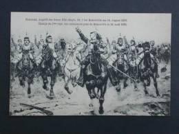 Ref2072 CPA Charge Du 7ème Régiment Des Cuirassiers Près De Rezonville Le 16 Août 1870. N° 51, 1913. Guerre Bataille - Guerres - Autres