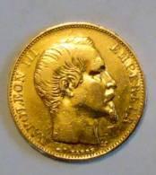 20 FRANCS OR NAPOLEON III DE 1855 - France