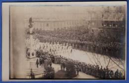 KAISER FRANZ JOSEF I Leichenzug Aufmarsch Der Garde Und Spalier Des Militärs Fotokarte (5) Fotograph R.Lechner Wien - Beerdigungen
