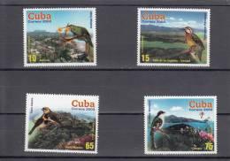 Nº 4111 Al 4114 - Cuba