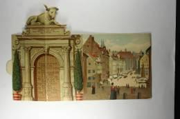 Germany Druchsache Postcard , Gruss Aus Nurnberg , 3 D Card