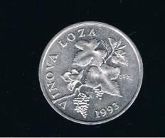 CROATIA - CROACIA -  2 Lipa  1993  KM4  - Grapevine -  VINOVA LOZA - Croacia