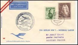 Austria 1958, Airmail Cover Graz To Moscow - Aéreo