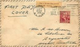 1949  John Forrest  Private FDC Perth WA - FDC