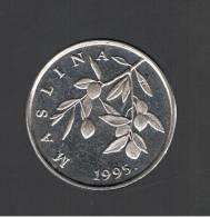 CROATIA - CROACIA -  20 Lipa 1995  KM20  - Olive Branch - MASLINA - Croacia
