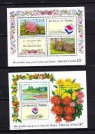 FRANCE   1994  BLOC  BF  15 ET 16  **   LUXE  // PARC FLORAL DE PARIS  COTE 36 - Sheetlets