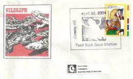 USA. Toad Suck Daze Station (crapaud) Arkansas,  Enveloppe Souvenir - Reptiles & Batraciens