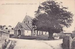 CPA - 76 - ANGERVILLE L'ORCHER - L'église  - 5404 - France
