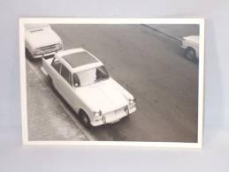 Photo. Auto Triumph. 105 X 75 Mm. Old Car. - Automobiles