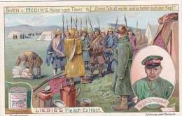 Liebig Vintage Trade Card S947 Journey SDven Hedin To Tibet No 6 Einen Schnitt Weiter  1908 - Liebig