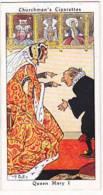 Churchman Vintage Cigarette Card Howlers No 5 Queen Mary I   1937 - Churchman