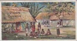 Player Vintage Cigarette Card British Empire Series No 40 Waitooa A Fiji Village  1904 - Player's