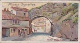Player Vintage Cigarette Card Celebrated Gateways No 2 Water Gate Exeter In 1822  1909 - Player's