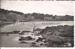 Cpsm, Binic (C.-du-N.), Plage De L'avant-port, Bien Animée - Binic