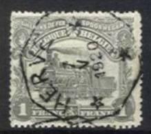 Belgique - Chemin De Fer N°TR71 Obl. Télégraphique HERVE - 1915-1921