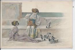FEMMES  - Illustration - Série 166 - Femmes