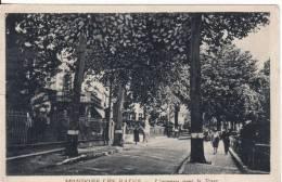 MONDORF-LES-BAINS (Luxembourg) Avenue Vers Le Parc - VOIR  2 SCANS - - Bad Mondorf